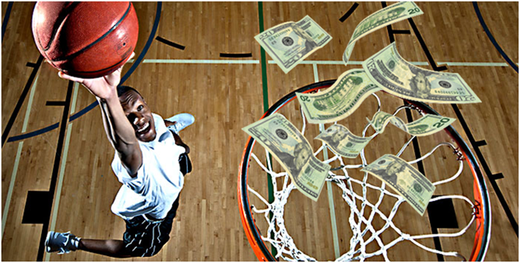 How does basketball betting work?