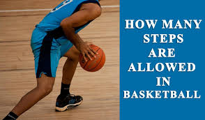 How many steps can you take in Basketball?