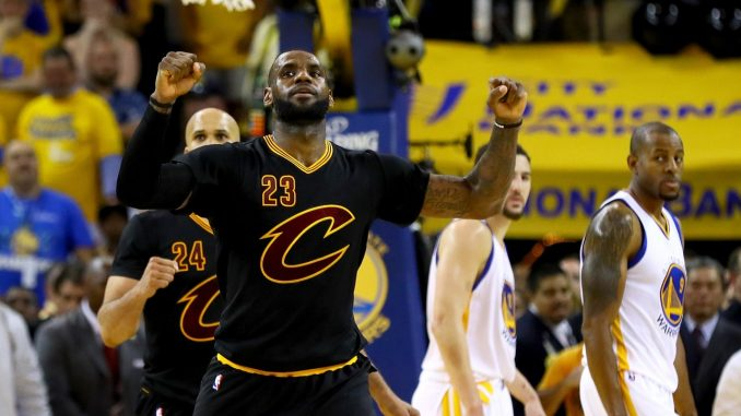 How many World Championship Basketball Titles has LeBron lost?