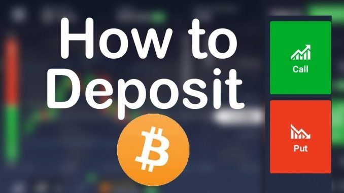 How to deposit with Bitcoins?